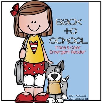 Back to School {Emergent Reader}