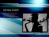 All that Jazz! Preschool music lesson activities