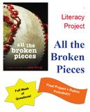 Unique Book Study: All the Broken Pieces by Ann E. Burg