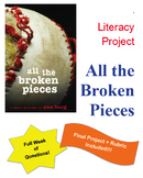 Unique Book Study: All the Broken Pieces by Ann E. Burg