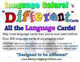 All the Cards - Language