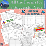 Classroom Forms for a Successful Year