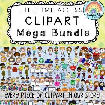All the Clipart MEGA BUNDLE