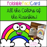 All the Colors of the Rainbow {Foldable Fact Card}