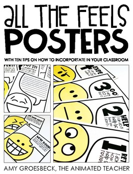 All the Feels Posters - EDITABLE