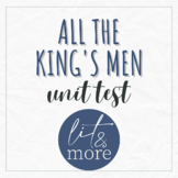 All the King's Men Test for AP Lit