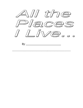 All the Places I Live Book