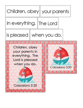 All Those Secrets of the World Bible Verse Printable (Colossians 3:20)