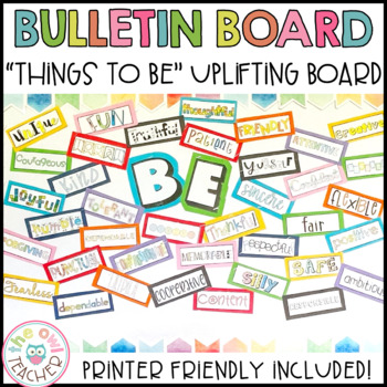 All the Things to Be Bulletin Board