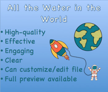 All the Water in the World Lab