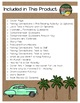 All the Way to Havana by Engle 22 Book Extension Activities NO PREP