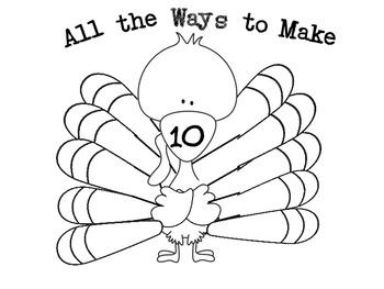 All the Ways to Make Ten Turkey Craft