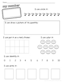 All the Ways to Show a Number 0-10