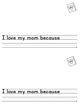 All the reasons I love you, Mom - Mother's Day Book