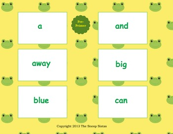All things DOLCH: Sight Words & Nouns