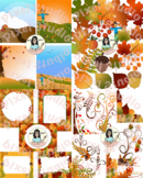 All things Fall Clipart BUNDLE