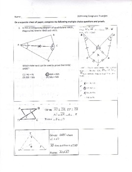 All topics- Geometry Problems with Answers (ALL steps shown!)