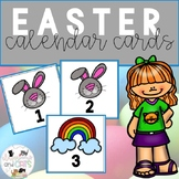 All year long calendar cards - Easter