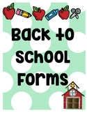 All you need for Back to school information