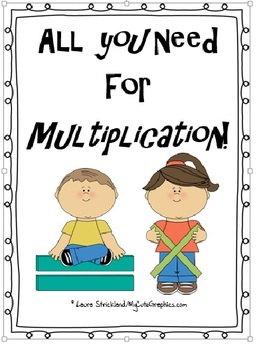 Multiplication: All you need for the basics through 2 digit by 2 digit!