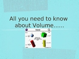 All you need to know about volume......