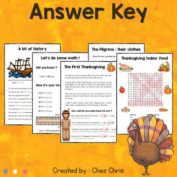 All your students need to know on Thanksgiving !
