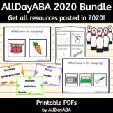 AllDayABA 2020 Bundle - ABA Therapy Activities, Autism Res