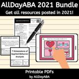 AllDayABA 2021 Growing Bundle - ABA Therapy Activities, BC