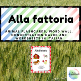 Alla fattoria/Farm Animals (Italian)