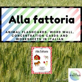 Alla fattoria/Farm Animals (Italian)