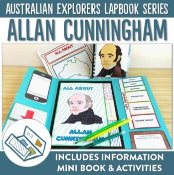Allan Cunningham Australian Explorers Lapbook Series