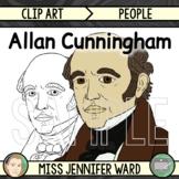 Allan Cunningham Clipart