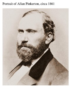 Allan Pinkerton Word Search