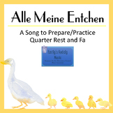 Alle Meine Entchen (All the Little Ducklings) Teacher Pack
