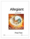 Allegiant Book 3 Final Test