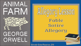 Allegories, Fables, Satire, and Symbolism (Intro to Animal Farm)