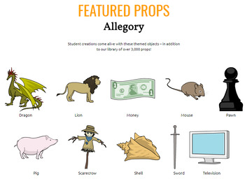Allegory Activities: Characters, Symbols, and Events in Allegory