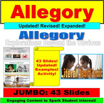 Allegory Introduction Lesson Plan PowerPoint