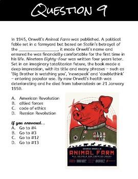 Allegory in Animal Farm Question Trail