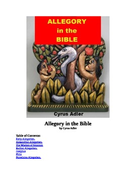 Allegory in the Bible