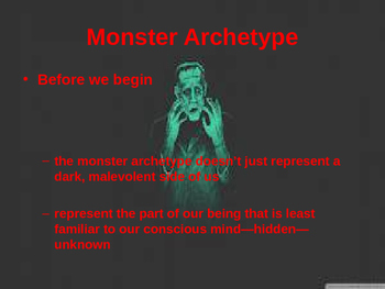 Allegory of the Monster Intro