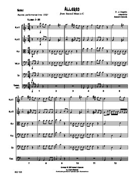 Allegro (2nd Mass in C)