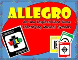 Allegro - Uno Inspired Card Game for Musical Symbols
