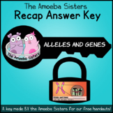 Alleles and Genes Answer Key by The Amoeba Sisters (Amoeba Sisters Answer Key)