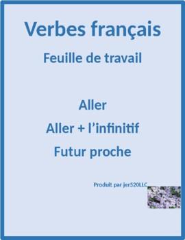 Aller & Aller + infinitive worksheet 1