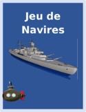 Aller Avoir Être Faire French verbs Bataille navale Battleship game