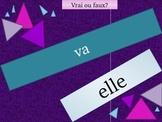 Aller Avoir Être Faire Venir French Verbs Review Game