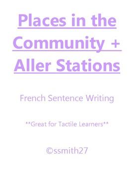 Aller + Et La Communauté - French Aller + Places Stations **Differentiated**