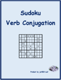Aller French verb present tense Sudoku