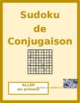 Aller French verb present tense Sudoku